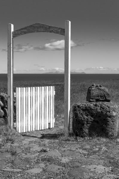 Church gate, Hellnar