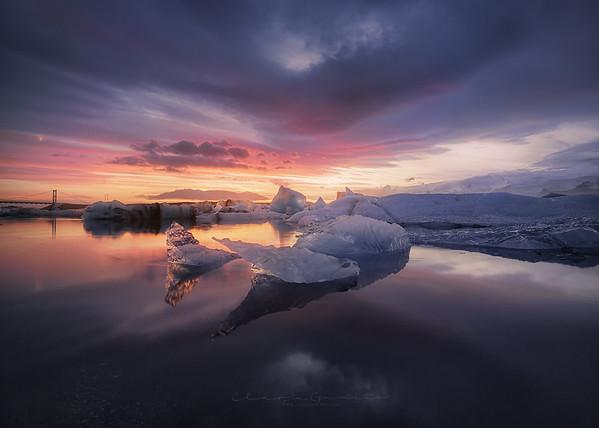 Glacier calm