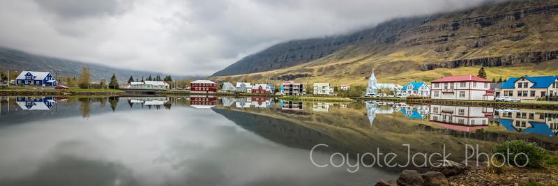 Seyðisfjörður reflections