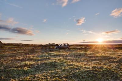Suzuki Jimny | Road F208 to Landmannalaugar