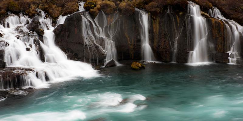 Hraunfossar Falls