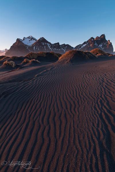 Vesturhorn sunset - Iceland 2016
