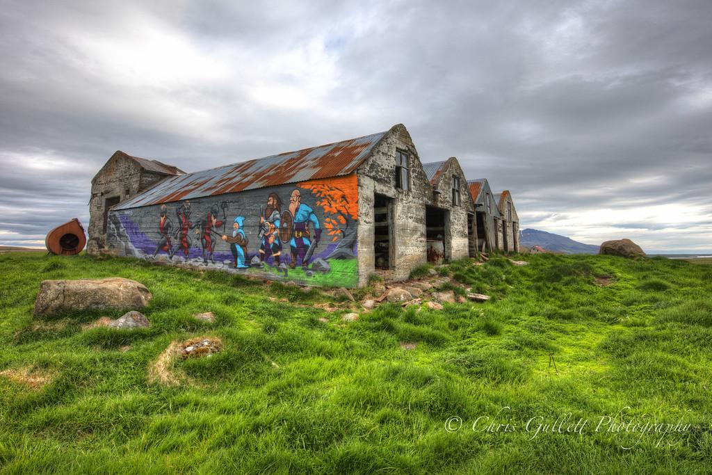 Horse Barn Graffiti
