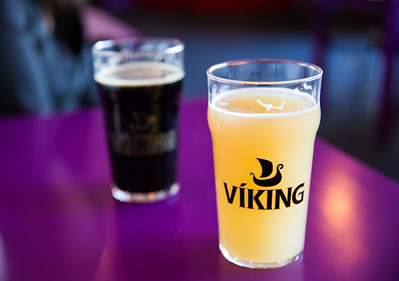 Viking Beer | At a cafe - Selfoss, Iceland