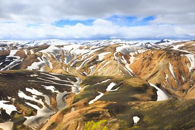 Bláhnjúkur Summit | Landmannalaugar, Iceland