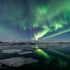 Nothern Lights over Jokusarlon I - Iceland 2016