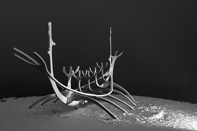 Viking Ship Sculpture, Reykjavik
