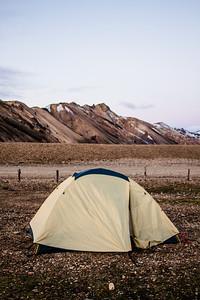 2003 REI Tent | Landmannalaugar, Iceland