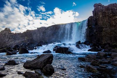 Oxararfoss waterfall v2