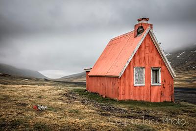 Hut in the hills