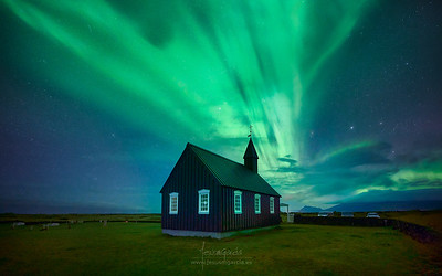 Budir Black Church - Iceland
