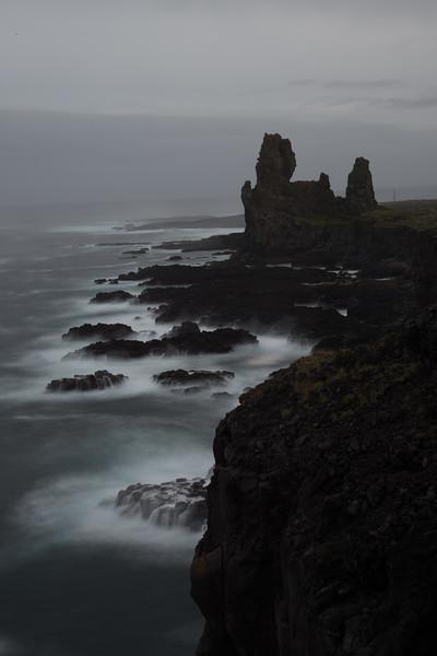 Laddrangur, on the coast, Snæfellsnes Peninsula