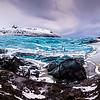 Blue panorama / Svinafellsjökull, Iceland