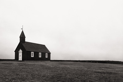 LIttle Black Church at Búðir, Snæfellsnes Peninsula