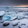Frosty shores / Jökulsárlón, Iceland