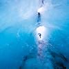 Ice tunnel / Solheimajokull, Iceland