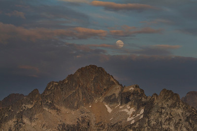 Moonrise over Mt Regan
