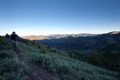 8:45 and not even half way across the ridge...