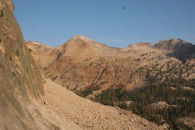 Mt Cramer is the big, open flanked peak.