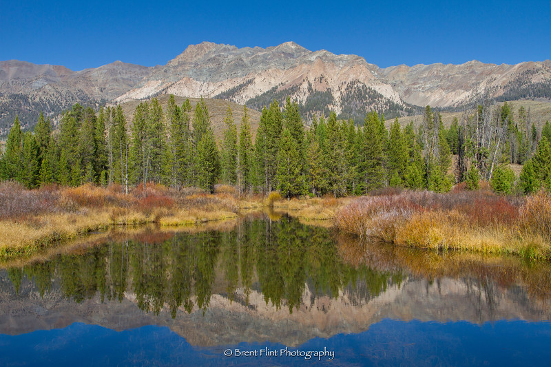 DF.3415 - Wood River backwash and Boulder Mountains, Sawtooth National Forest, ID.
