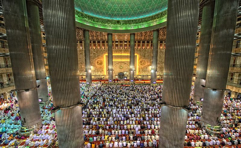 Idul Fitri, Jakarta, Indonesia