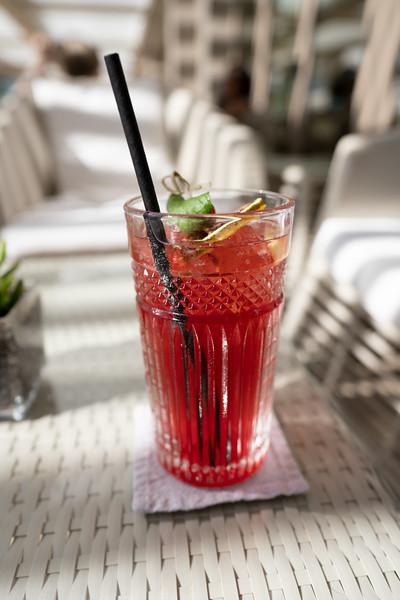 Cocktail at the Ikos Dassia, Corfu