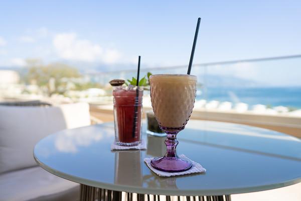 Cocktails at the Ikos Dassia, Corfu