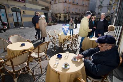 Street Life in Piazza Duomo (Amalfi, Costiera Amalfitana, Italy)