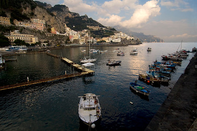 Amalfi's Harbor (Costiera Amalfitana, Italy)