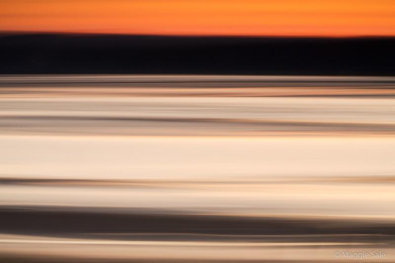 Kent Estuary at sunset, Cumbria, UK, #2