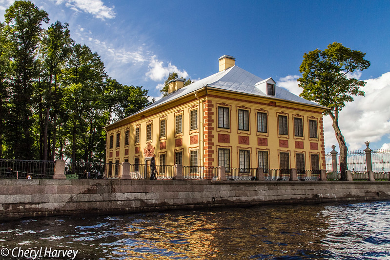 Yellow on St.Petersburg Canal