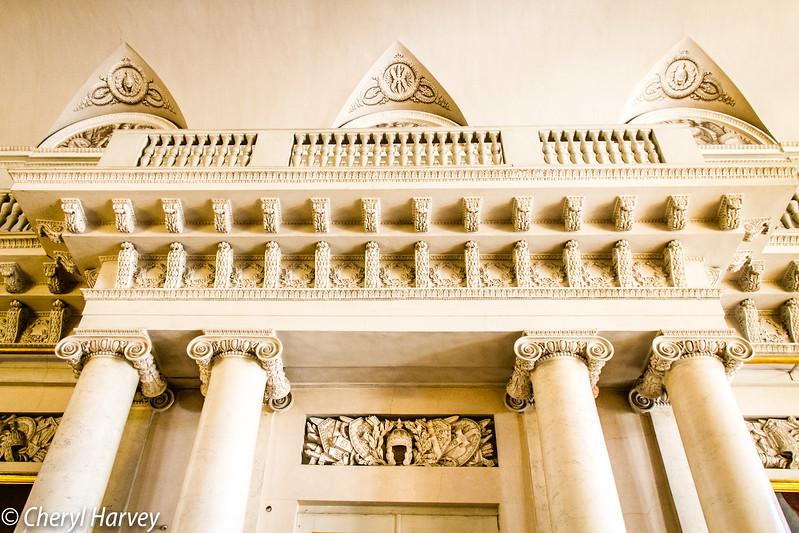 Hermitage Interior Detail with Columns