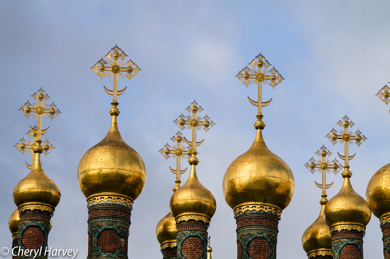 Church of the Nativity Domes #1