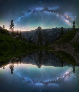 """Galactic"" - Artistically mirrored for effect."