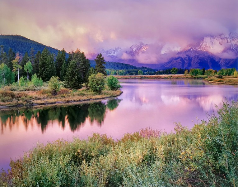 Morning Unveiled Oxbow Bend