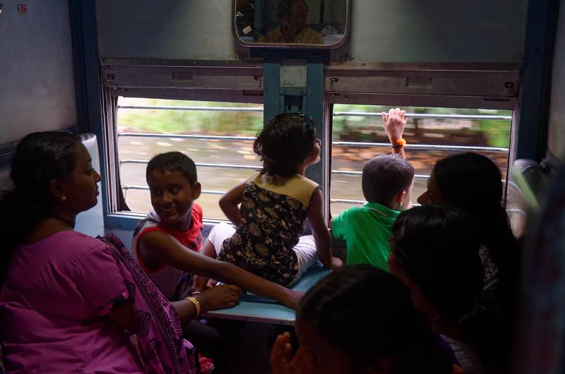 Indian Railway Systems, Kollam to Kochi, Kerala, India
