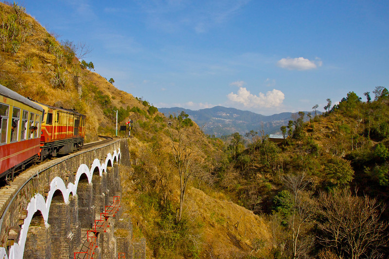 """Toy Train"" to Simla"
