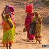 Bandhavgarh, Colourful Women