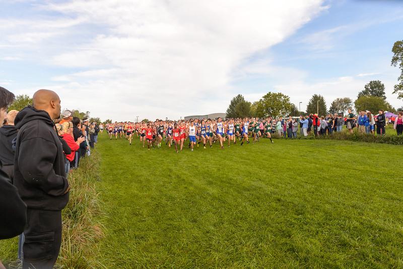 FlashRock XC Invite 2012 Boys Championship Race