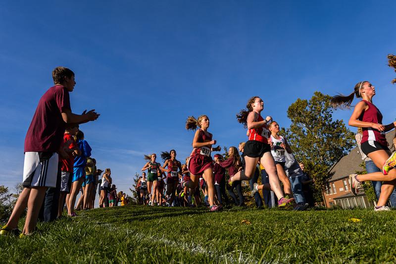 Brebeuf Sectionals Girls Race