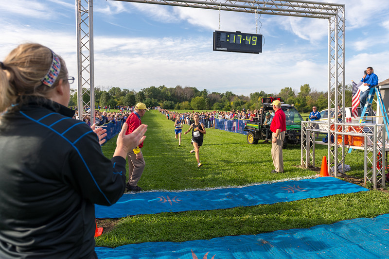 FlashRock XC Invite 2012 Girls Championship Race