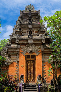 Entrance to Ubud Palace, Bali