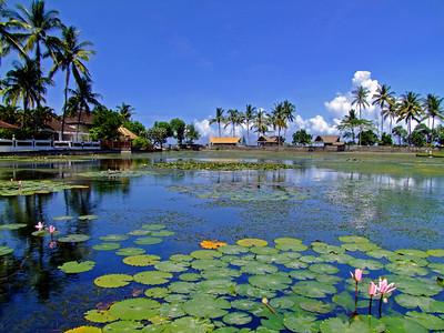 Lagoon at Candi Dasa, Eastern Bali