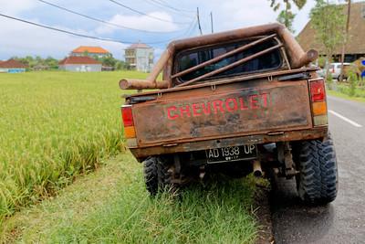 Chevrolet with Patina, Canggu, Bali