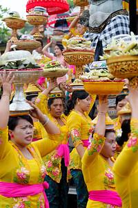 Traditional Balinese Hindu Procession, Ubud, Bali (9)