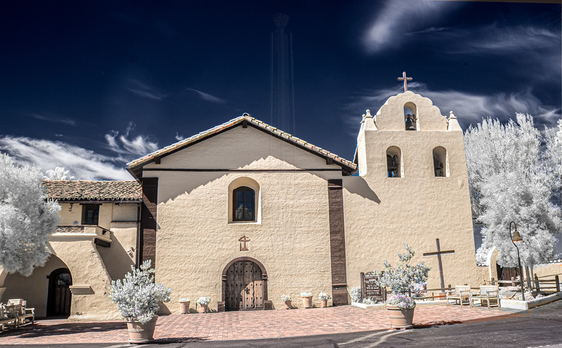 Front of Mission Santa Ines(IR).