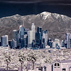 Downtown LA and Mt. San Antonio(IR).