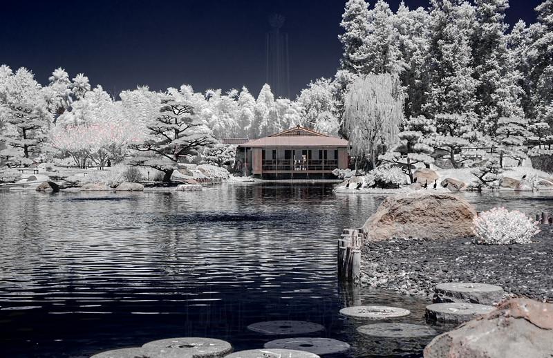 Tea House at The Japanese Garden.