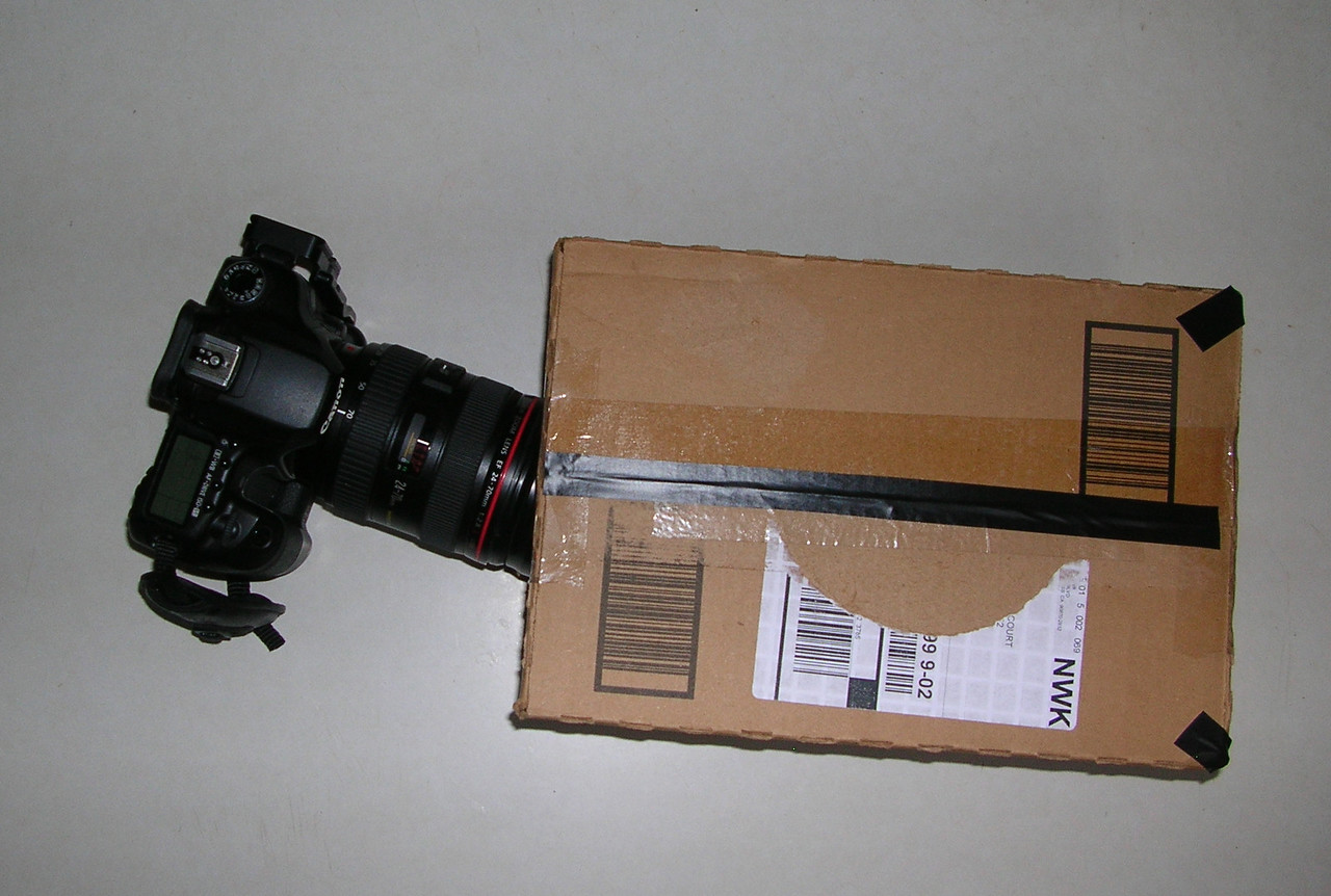The set-up of the Spectroscope-in-a box.