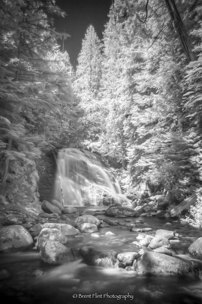 DF.4717 - Upper Snow Creek Falls, Kaniksu National Forest, ID.